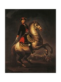 Portrait of Ferdinand I, King of the Two Sicilies Giclee Print by Francesco Lojacono