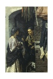 The Charity, 1869 Giclee Print by Michele Cammarano