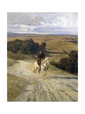 Desolate Roman Countryside Giclee Print by Enrico Coleman