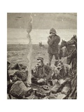 British Troops Encampment, 1884, Colonial Wars, Sudan Giclée-Druck von Gaspar van Wittel