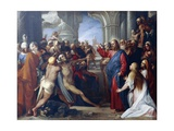 The Raising of Lazarus Giclee Print by Giuseppe Cesari