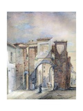 The Old Customs House at San Biagio Giclee Print by  Giotto