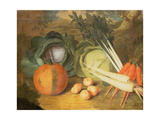 Still Life of Vegetables Giclee Print by Leopoldo Metlicovitz