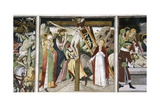 France, La Brigue, Notre-Dame Des Fontaines Chapel, Descent from Cross, 1491 Giclee Print by Giovanni Canavesio