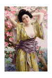 The Geisha Giclee Print by Jean Francois Champollion