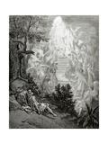 Jacob's Dream Lámina giclée por Gustave Doré