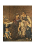Portrait of the Ciardi Family Giclee Print by Guglielmo Ciardi