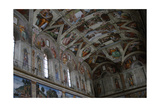 Frescoes of the Ceiling of Sistine Chapel Giclee Print by Michelangelo Schiavoni