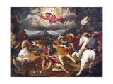The Conversion of Saul, Circa1527-1593 Giclee Print by Giuseppe Abbati