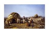Eritrea, 1893 Giclée-tryk af Michele Cilea