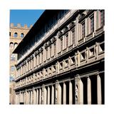 Palazzo Degli Uffizi, 1560 Giclée-Druck von Giorgio Vasari