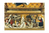 Nativity and the Arrival of the Magi Giclee Print by Giovanni Di Lorenzo Cini