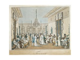France, Paris, Frascati Cafe in 1807 Giclee Print by Philippe Benoist