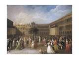 National Festival in Venice in 1797, 1770 - 1849 Giclee Print by Giuseppe Cammarano