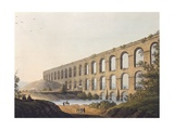 Aqueduct Near Belgrade, 1804 Giclee Print by Luigi Mayer
