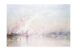 Steaming into Lincoln, 1894 Giclee Print by Frederick Stead