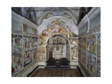Frescos, 1491, in Notre-Dame Des Fontaines Chapel, La Brigue, France Giclee Print by Giovanni Canavesio