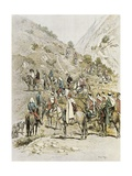 The French Army, 1886, Colonial Wars, Morocco Giclee Print by Edouard Detaille