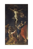Korsfæstelse Giclée-tryk af Francesco Primaticcio