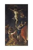 Crucifixion Giclee Print by Francesco Primaticcio