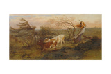 The Wind on the Wold, 1862 Giclee Print by George Morland