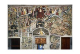 Last Judgement, 1491, in Notre-Dame Des Fontaines Chapel, La Brigue, France Giclee Print by Giovanni Canavesio
