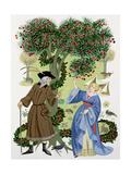 The Cherry Tree Carol Giclee Print by Peder Severin Kröyer