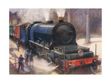 The Most Powerful Locomotive in Europe Giclee Print by Harry Brooker