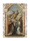 Saint Anne with Saints Massimo, Hermagoras and Fortunate, 1841 Giclee Print by Giambettino Cignaroli