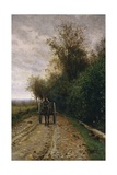 Road Through the Bushes, 1868 Giclee Print by Ernst Benary
