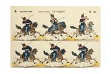 Italy, Milan, Italian Cavalleggeri, Light Cavalry, 1900 Giclee Print by Elizabeth Jane Lloyd