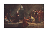 Cranmer at Traitors Gate Giclee Print by Frederick Waters Watts