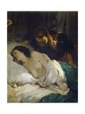 Parisina, Circa 1854 Giclee Print by Giuseppe Bezzuoli