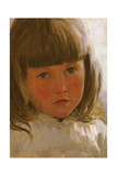 Study of a Young Girl Giclee Print by Edward Killingworth Johnson