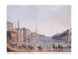 Cairo Main Square, 1801 Giclee Print by Luigi Mayer