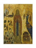 St John the Hermit, Icon Giclee Print by Ennemond Alexandre Petitot