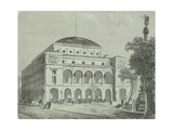 France, Paris, Chatelet Theatre Giclee Print by Gabriele Smargiassi