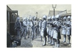Sir George White's Departure from Ladysmith, 1900 Giclee Print by George, of Chichester Smith