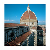 Dome of the Cathedral of Santa Maria Del Fiore, 1420 - 1436 Giclée-tryk af Filippo Brunelleschi