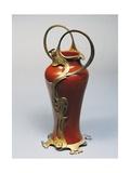 Art Nouveau Vase with Bronze Ornaments, 1905 Giclée-Druck von Giorgio Vasari