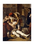 The Murder of Lorenzino De' Medici, 1840 Giclee Print by Giuseppe Bezzuoli