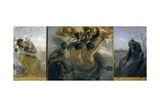 Glory, Triptych Giclee Print by Giuseppe Molteni