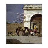 Stop in Sardinia Giclee Print by Giovanni Battista Tiepolo