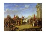 Gelon's Triumphal Entry into Syracuse, 480 BC Giclee Print by Giuseppe Cesari