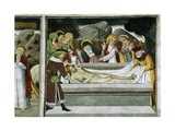 France, La Brigue, Notre-Dame Des Fontaines Chapel, Entombment of Jesus Christ, 1491 Giclee Print by Giovanni Canavesio