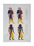 Foreign Men, Plate Clvii from Monuments of Egypt and Nubia, Historical Monuments, 1832 Giclee Print by Isack van Ostade