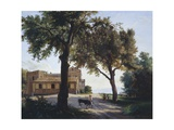 The So-Called Capodimonte Vaccheria Giclee Print by Giuseppe Cesari