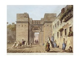 Cairo Gate, 1804 Giclee Print by Luigi Mayer
