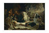Burial of Jesus Christ, 1895 Giclee Print by Vilmos Zsolnay