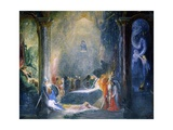 Allegory of Dramas Giclee Print by Richard Wilson